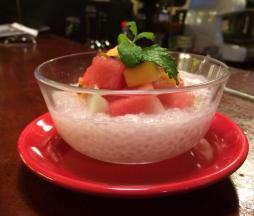 Sago Fruits dessert