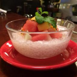 Sago Fruits dessert